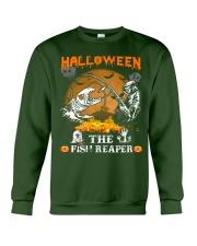 HalloWeen the Fish Reaper Crewneck Sweatshirt thumbnail