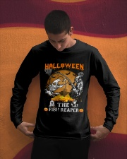 HalloWeen the Fish Reaper Long Sleeve Tee apparel-long-sleeve-tee-lifestyle-01