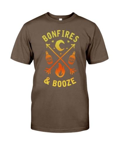 Camping bonfires
