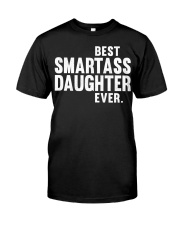 Best Smartass Daughter Classic T-Shirt thumbnail