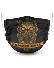 owl 2 Layer Face Mask - Single thumbnail