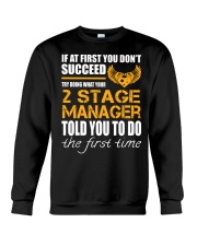 STICKER 2 STAGE MANAGER Crewneck Sweatshirt thumbnail
