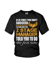STICKER 2 STAGE MANAGER Youth T-Shirt thumbnail