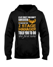 STICKER 2 STAGE MANAGER Hooded Sweatshirt thumbnail