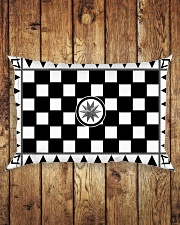 Masonic Tessellated Pavement Rectangular Pillowcase aos-pillow-rectangle-front-lifestyle-2