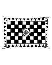 Masonic Tessellated Pavement Rectangular Pillowcase back