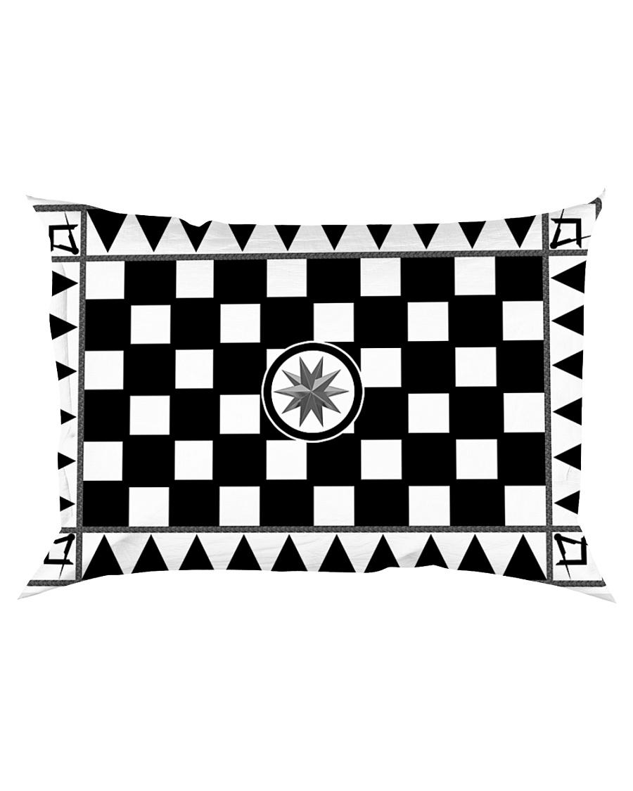 Masonic Tessellated Pavement Rectangular Pillowcase