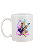 Guitar Cat - Rock kitty on an electric guitar  Mug back