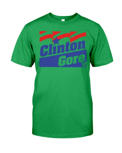 clinton gore 92  black shirt