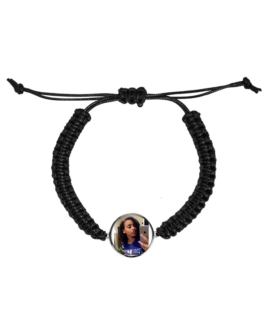 Eliana bracelet  Cord Circle Bracelet