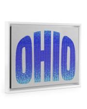 OHIO 14x11 White Floating Framed Canvas Prints thumbnail