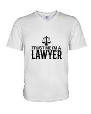 Trust me I'm a lawyer V-Neck T-Shirt thumbnail