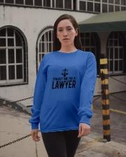Trust me I'm a lawyer Long Sleeve Tee apparel-long-sleeve-tee-lifestyle-09