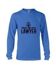 Trust me I'm a lawyer Long Sleeve Tee front
