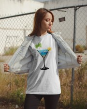 SUMMER IN A GLASS Classic T-Shirt apparel-classic-tshirt-lifestyle-07
