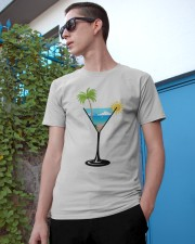 SUMMER IN A GLASS Classic T-Shirt apparel-classic-tshirt-lifestyle-17