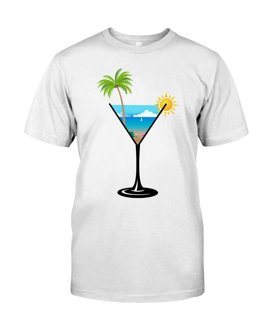 SUMMER IN A GLASS Classic T-Shirt