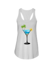 SUMMER IN A GLASS Ladies Flowy Tank thumbnail