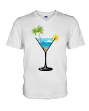 SUMMER IN A GLASS V-Neck T-Shirt thumbnail