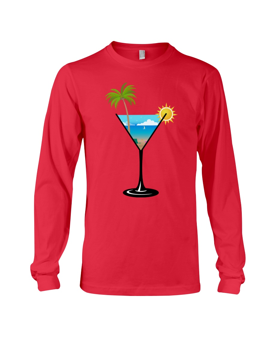 SUMMER IN A GLASS Long Sleeve Tee