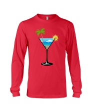 SUMMER IN A GLASS Long Sleeve Tee front