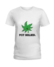POT BELLIED Ladies T-Shirt thumbnail