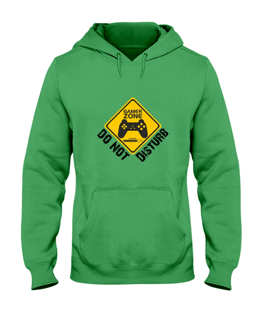 Gamer zone: Do not disturb Hooded Sweatshirt