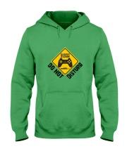 Gamer zone: Do not disturb Hooded Sweatshirt front
