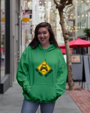 Gamer zone: Do not disturb Hooded Sweatshirt lifestyle-unisex-hoodie-front-2