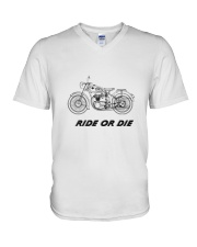 RIDE OR DIE V-Neck T-Shirt thumbnail