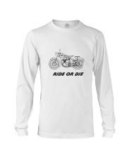 RIDE OR DIE Long Sleeve Tee thumbnail