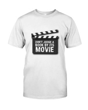 Don't judge the book by its movie Classic T-Shirt thumbnail