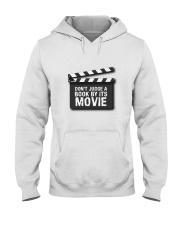 Don't judge the book by its movie Hooded Sweatshirt thumbnail