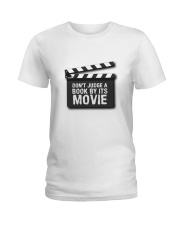 Don't judge the book by its movie Ladies T-Shirt thumbnail