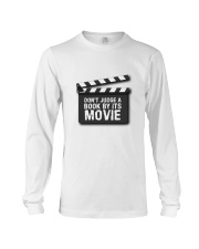 Don't judge the book by its movie Long Sleeve Tee thumbnail