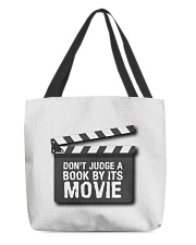 Don't judge the book by its movie All-over Tote thumbnail