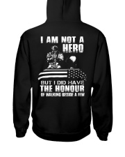 I AM NOT A HERO VETERAN Hooded Sweatshirt thumbnail