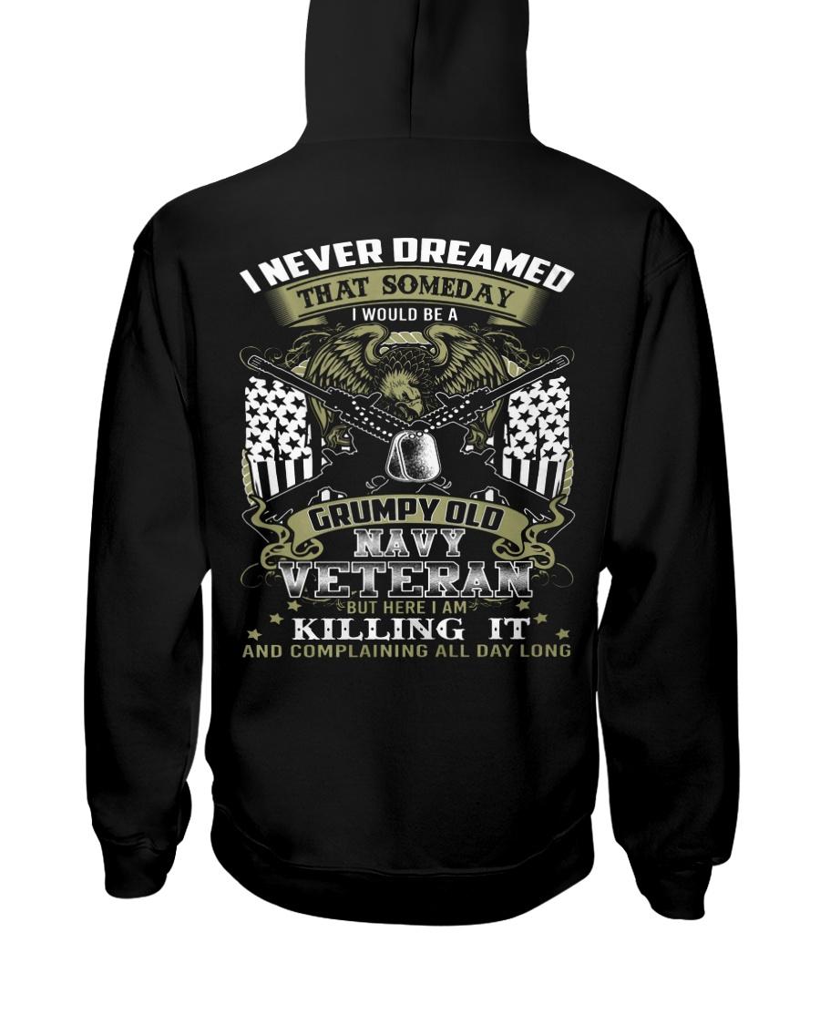 LlMlTED EDlTION - NAVY VETERAN Hooded Sweatshirt