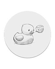 Quack You Circle Coaster thumbnail