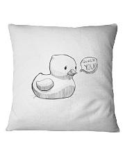 Quack You Square Pillowcase thumbnail