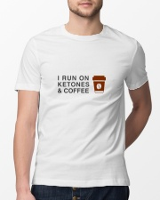 I run ON Ketones And Coffee  Classic T-Shirt lifestyle-mens-crewneck-front-13