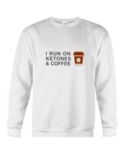 I run ON Ketones And Coffee  Crewneck Sweatshirt thumbnail