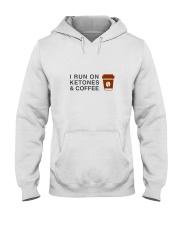 I run ON Ketones And Coffee  Hooded Sweatshirt thumbnail