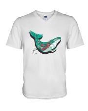 The Whale  V-Neck T-Shirt thumbnail