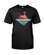 Chilling Flamingo  Classic T-Shirt front