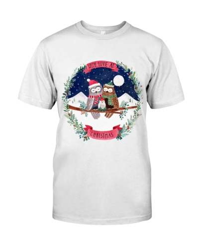 christmas owl shirt