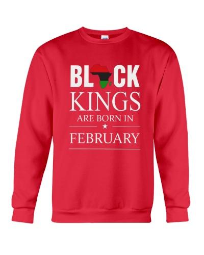 Black kings are born in February Africa Flag