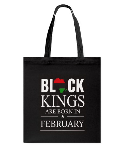 Black kings are born in February Africa Flag