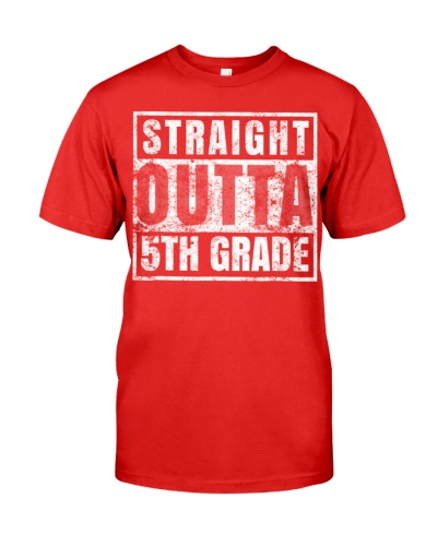 Straight Outta 5th Grade Graduation Gift