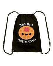 Don't be a twatwaffle Drawstring Bag thumbnail